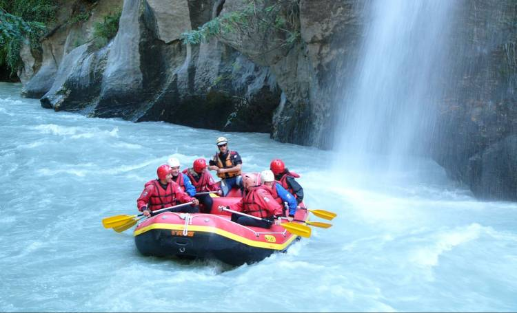 Rafting in Aosta Valley